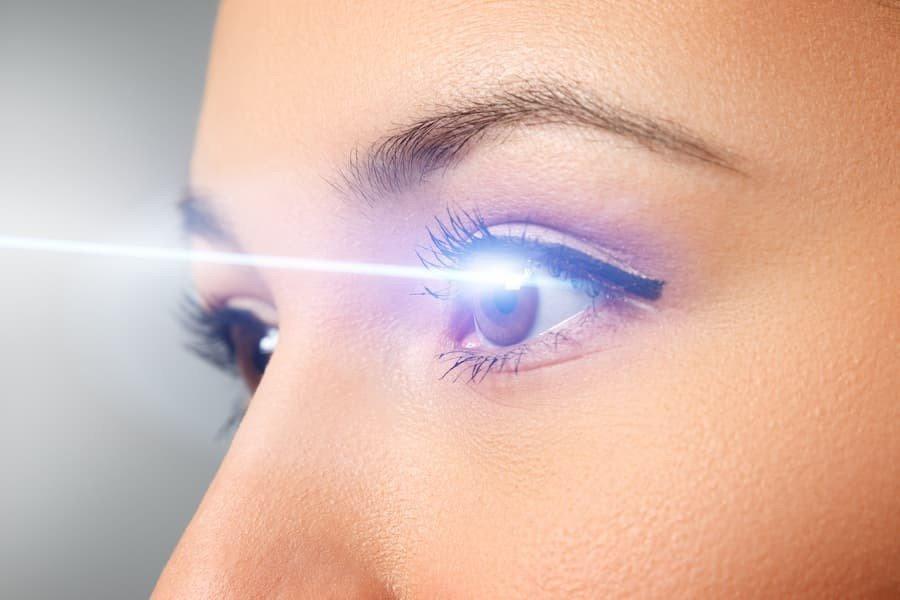 control de retina biometrico