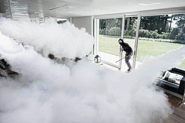 generadores de niebla para intrusos