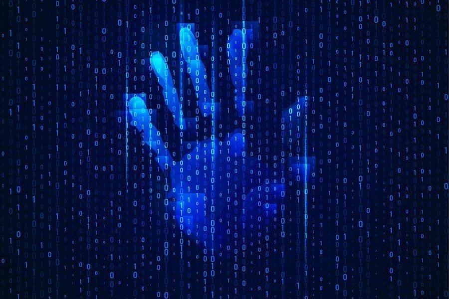 reconocimiento de geometria de la palma de la mano biometrico